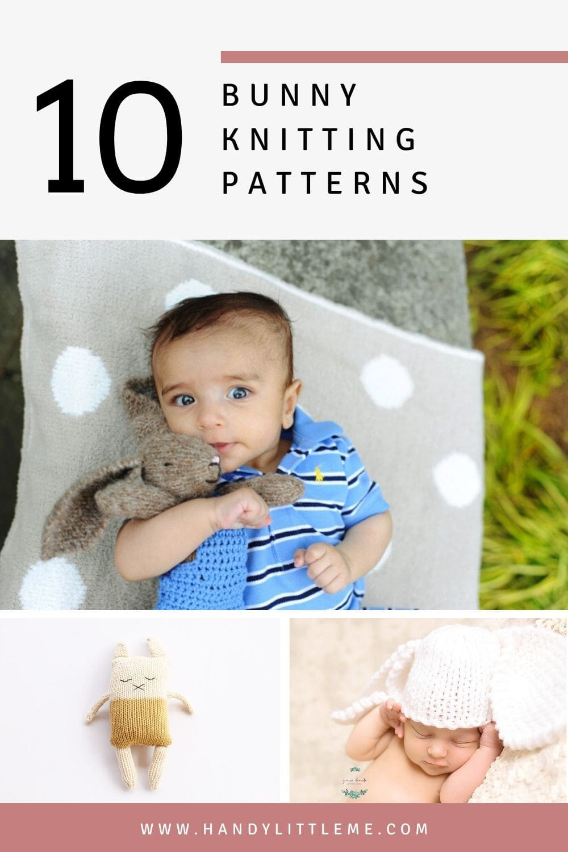10 bunny knitting patterns