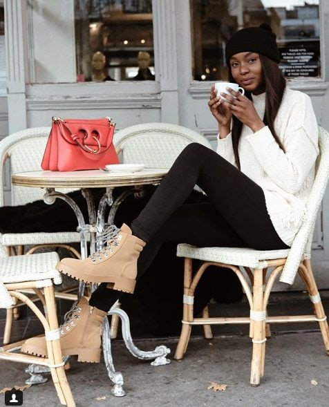 fall outfit ideas including knitted sweaters for women