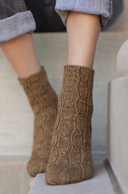 sock knitting pattern
