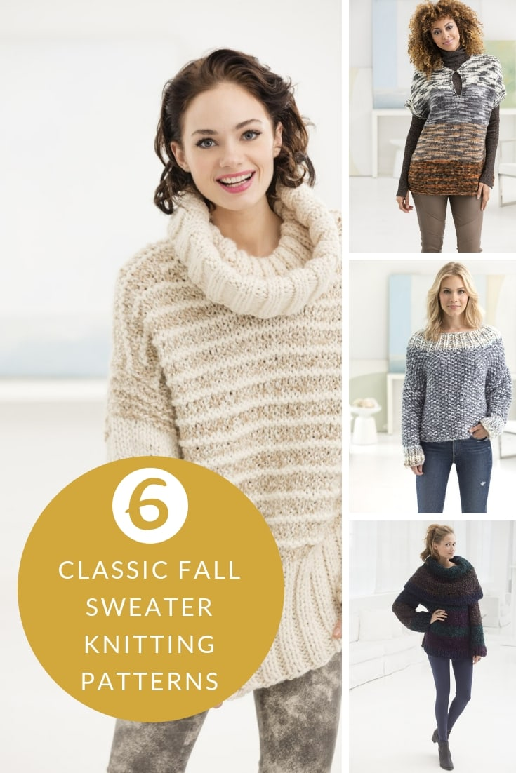Classic knits for fall