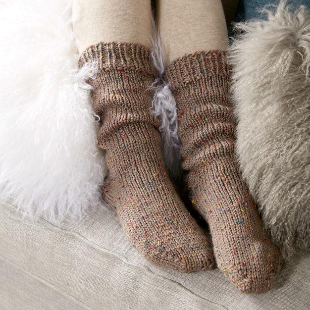 slouchy fall sock knitting patterns