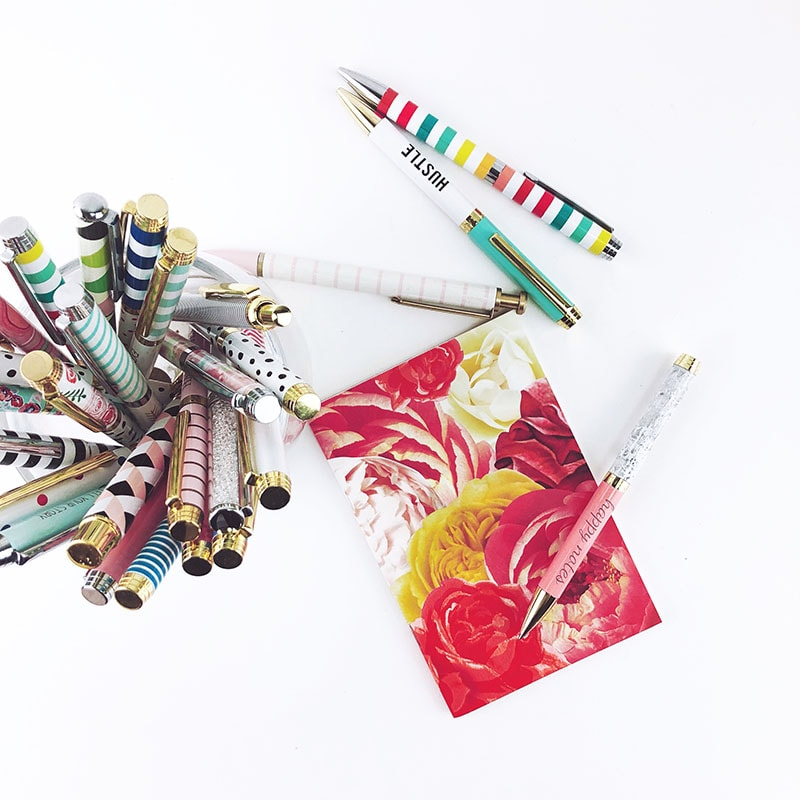 business card and pens for your craft show checklist