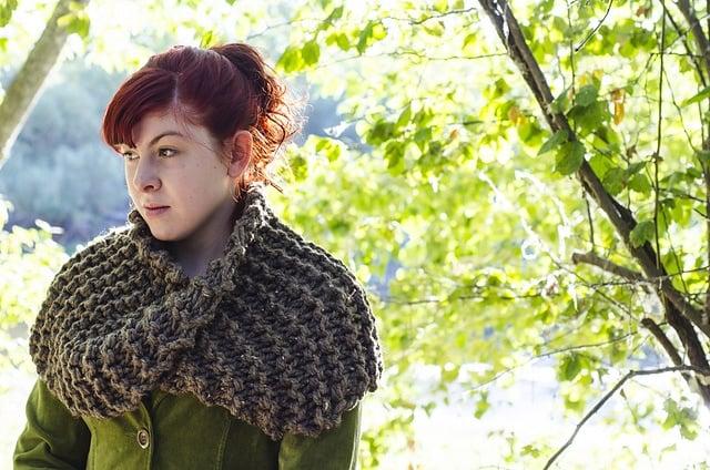 Outlander infinity scarf