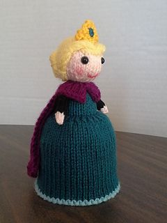 Elsa doll knitting pattern