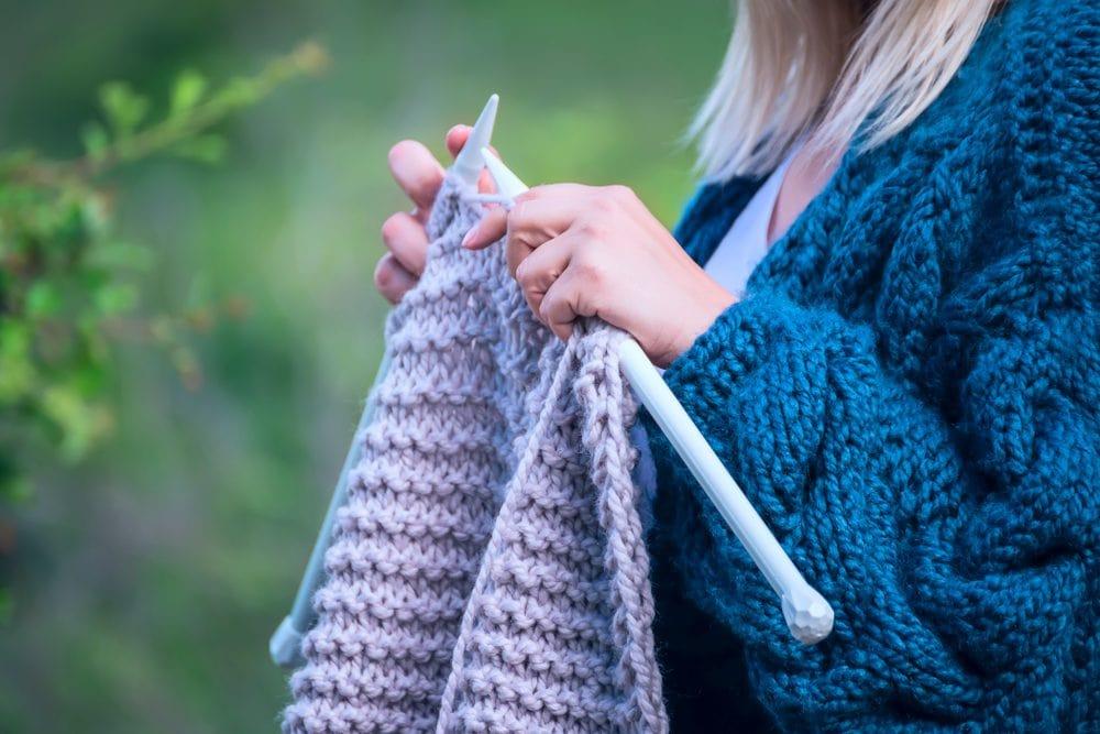 easy free knitting patterns