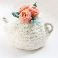 Flower Tea Cosy Knitting Pattern PDF Download | Handy Little Me