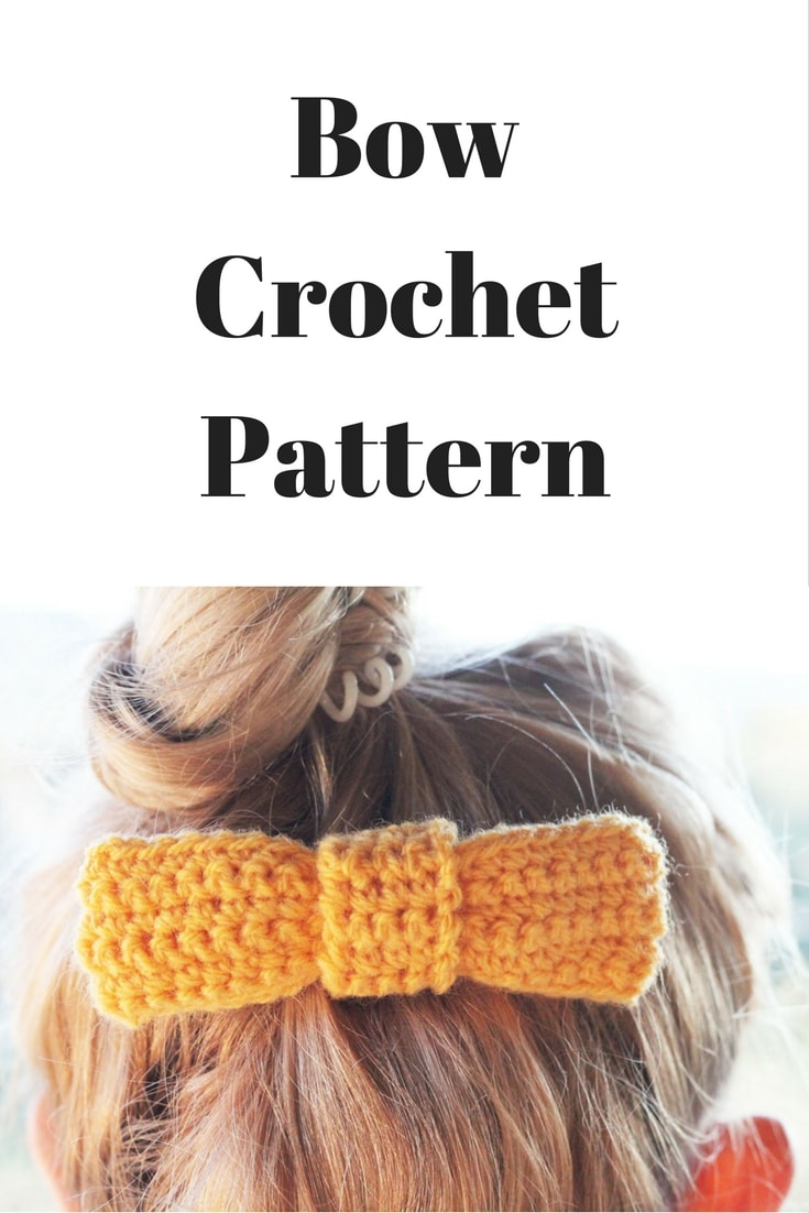 Bow Crochet Pattern