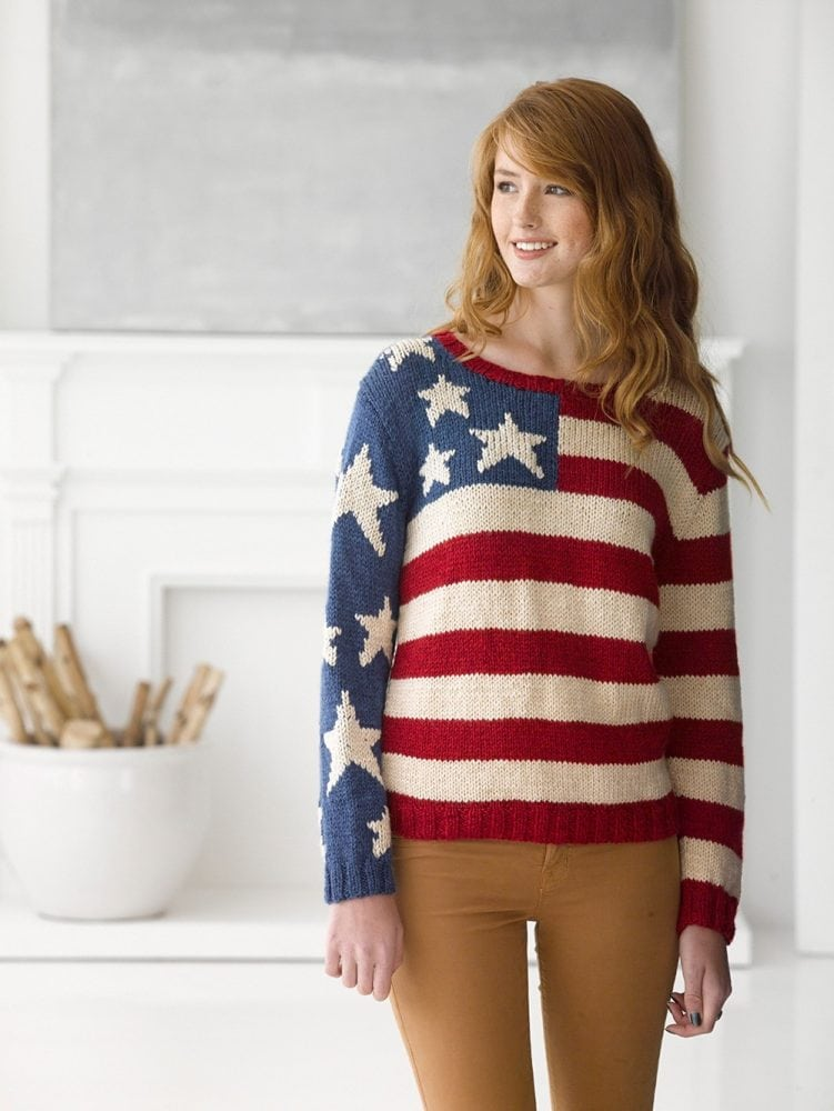 Knit-Pattern-Flag-Pullover