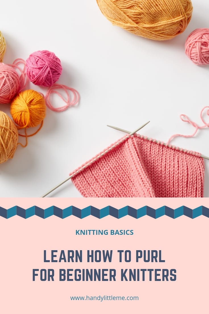 Learn how to purl