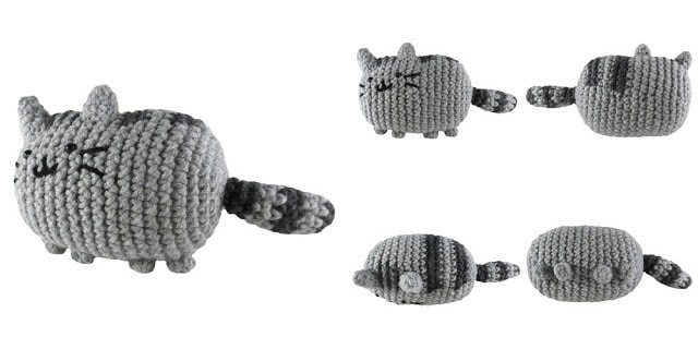 How To Make A Crochet Cat Free Knitting Patterns Handy Little Me