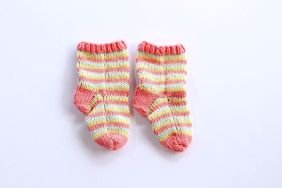 Baby Socks Pattern Free Knitting Patterns Handy Little Me
