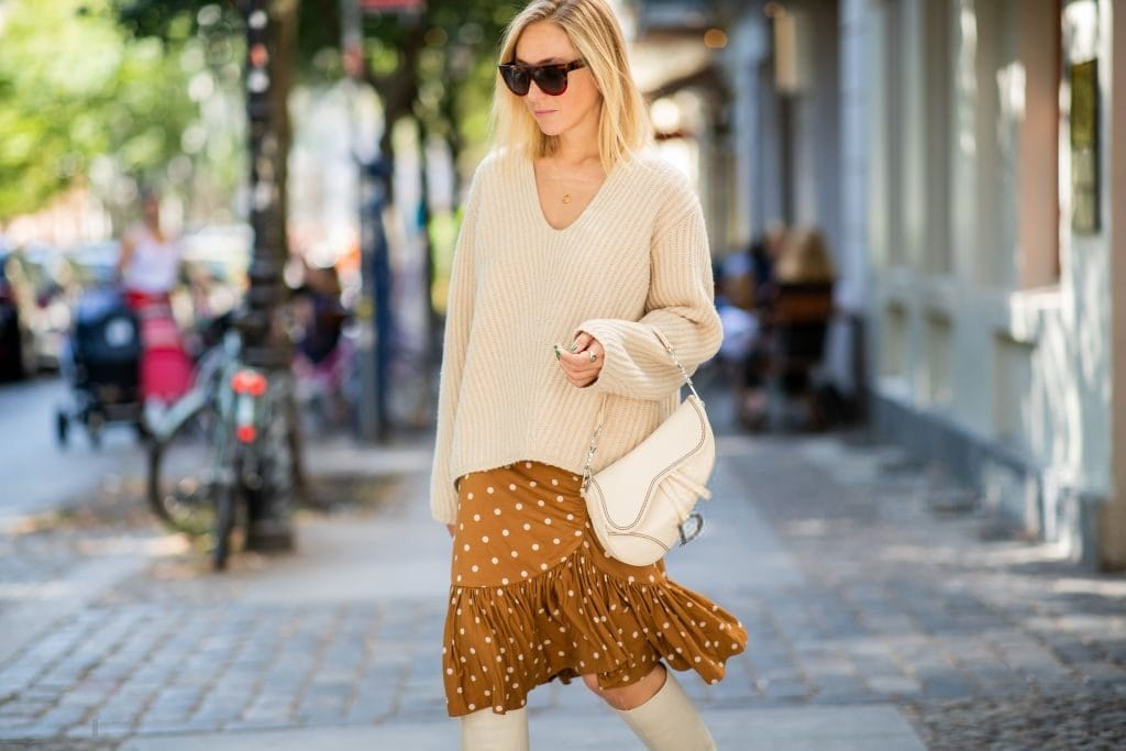 Fall outfit ideas including oversized sweaters