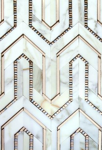 geometric style pattern from the 1920s