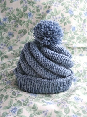 Free+swirl+beanie+hat+pattern