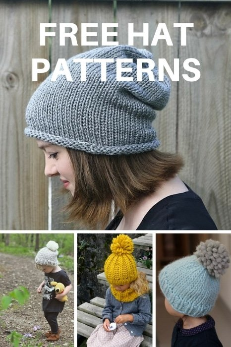 Free hat knitting patterns ... 6f1b47ebefb