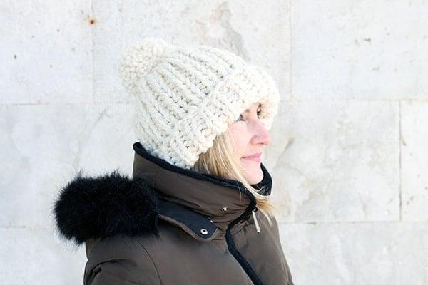 The Chloe Hat Knitting Pattern PDF Download   Handy Little Me