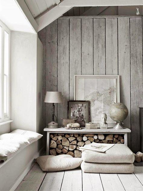 fall home decor trends including natural materials