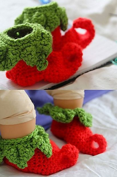 crochet+elf+slipper+pattern