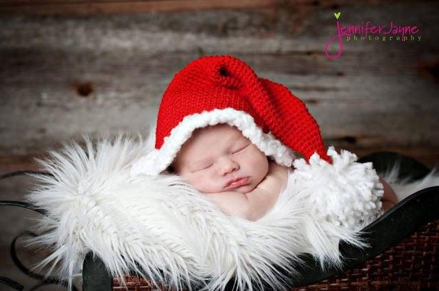 Crochet-Santa-Hat