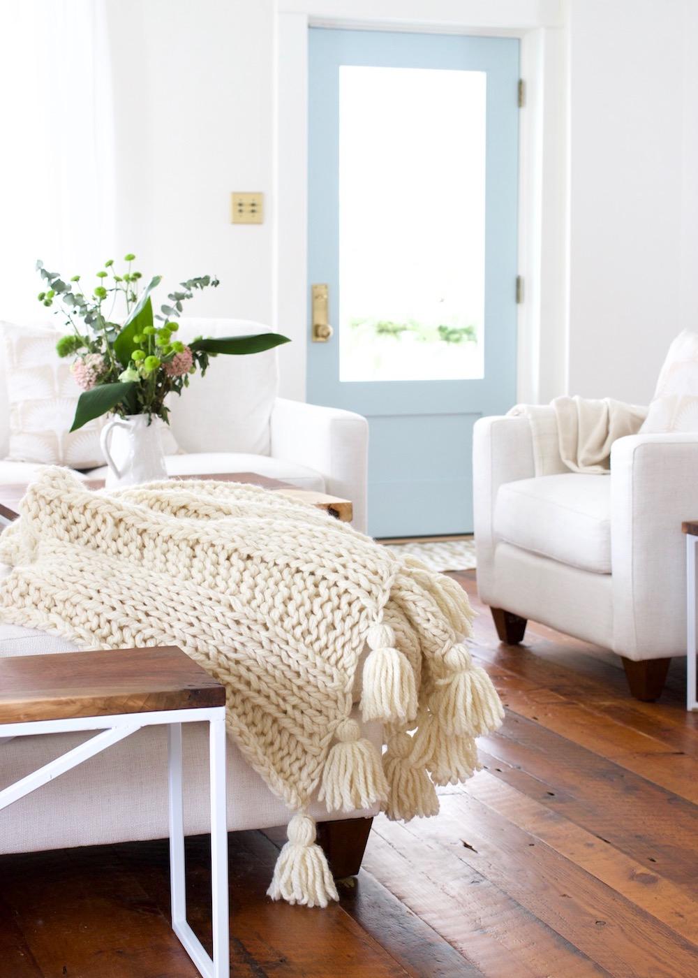 Chunky-knit-blanket-cream-wool-4