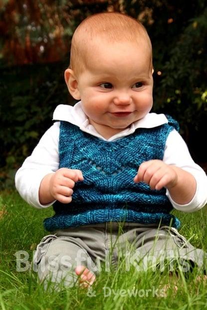 baby sweater vest