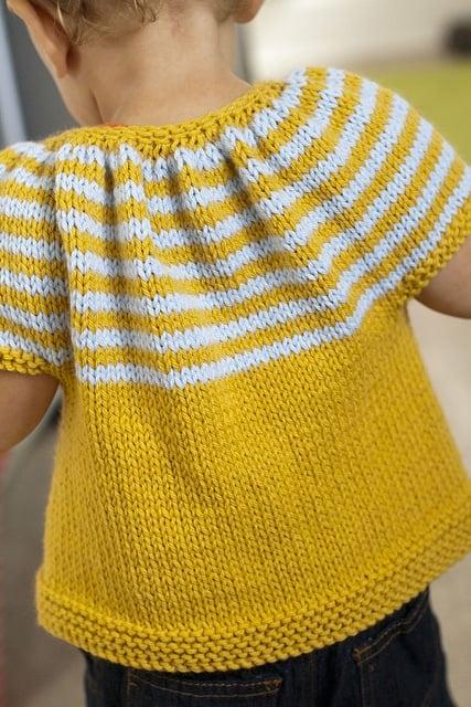 knitted shrug for kids