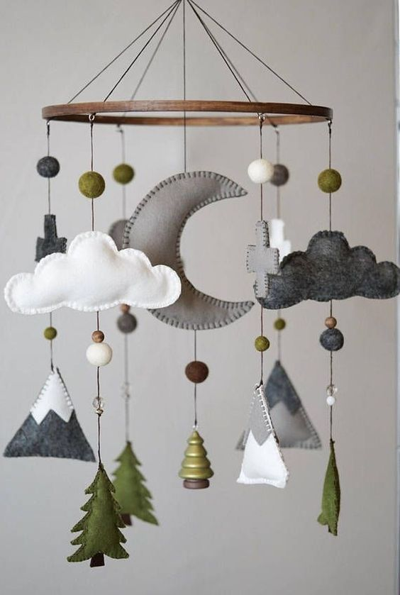 Mobiles For Kids Rooms Free Knitting Patterns Handy