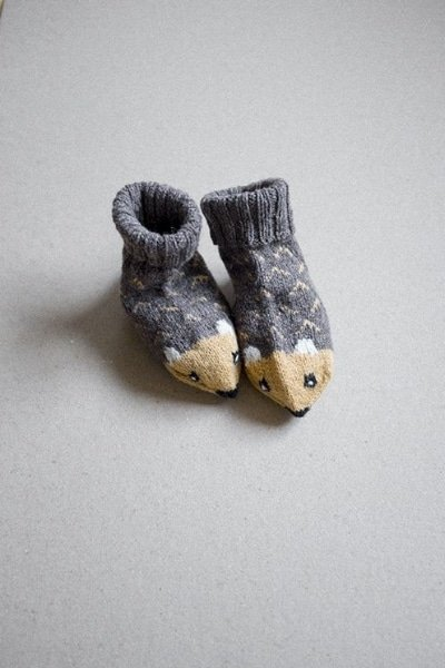 New baby knitted socks