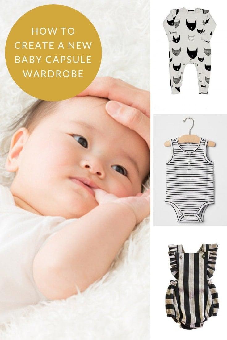 new baby capsule wardrobe
