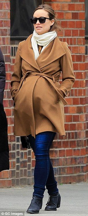maternity fall coat