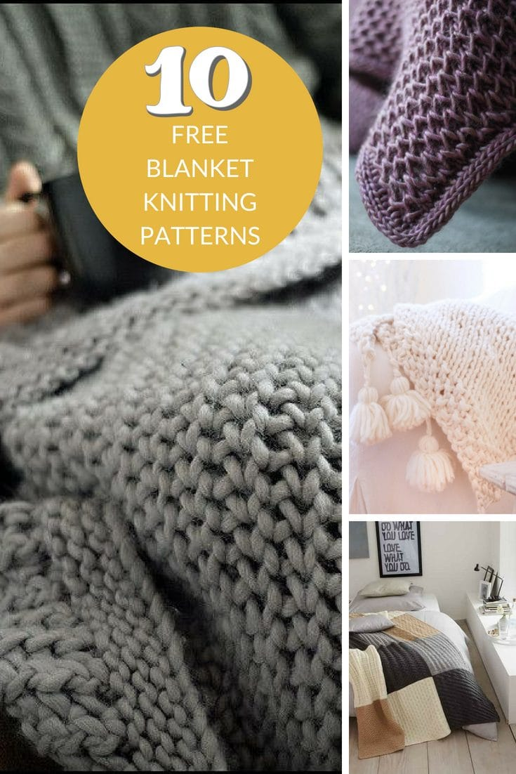 Everyone Loves Free Knitted Blanket Patterns