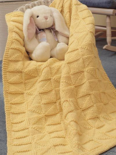 Everyone Loves Free Knitted Blanket Patterns | Free Knitting ...