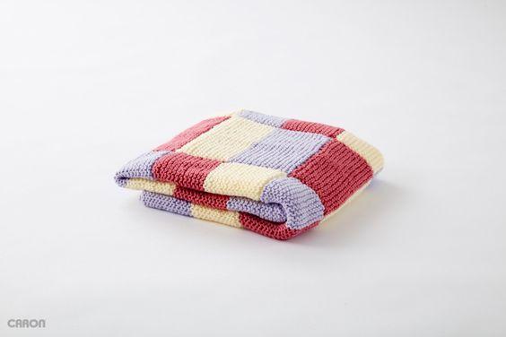 caron baby blanket