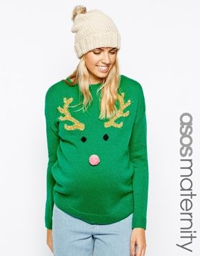 maternity Christmas sweater