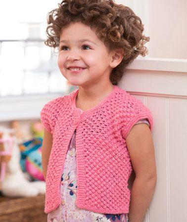 little girls shrug pattern