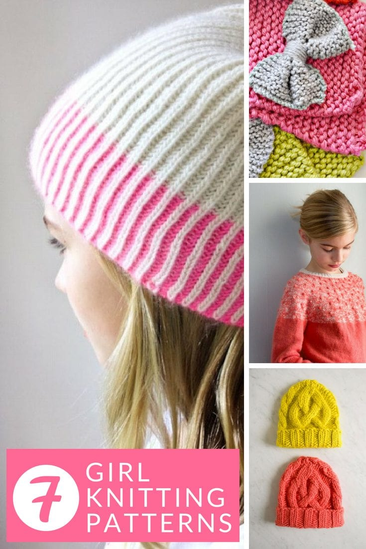 Little girl knititng patterns