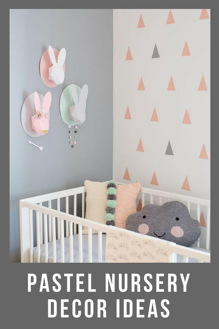 pastel nursery ideas