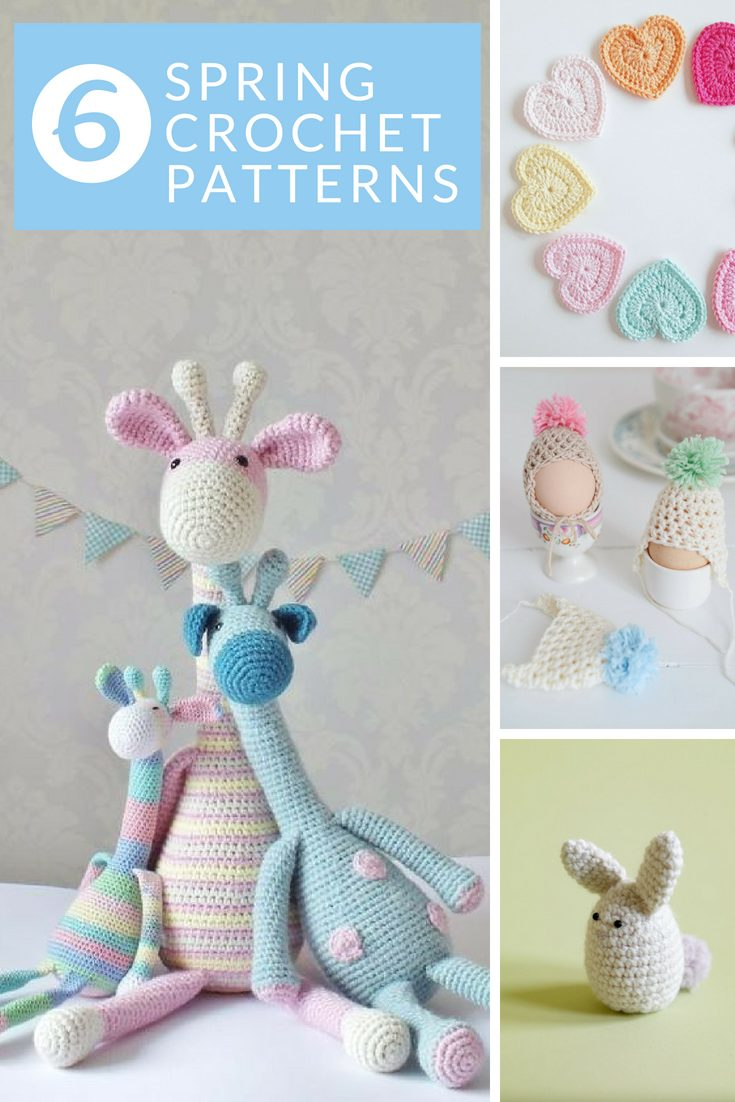 Spring crochet patterns