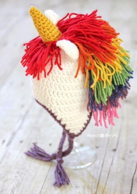 Crochet-Unicorn-Hat-Pattern