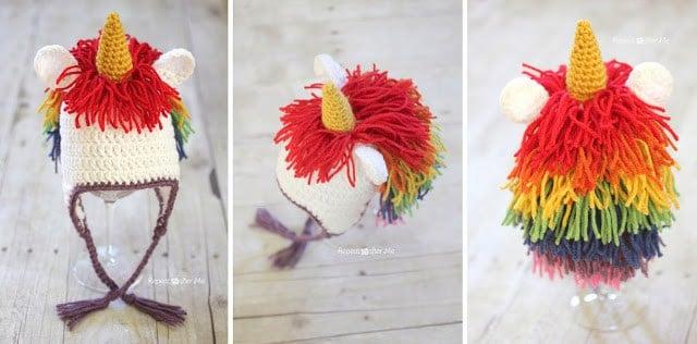 5 Crochet Animal Hat Patterns For Kids Free Knitting Patterns