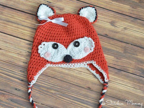 Crochet-Fox-Hat-Pattern