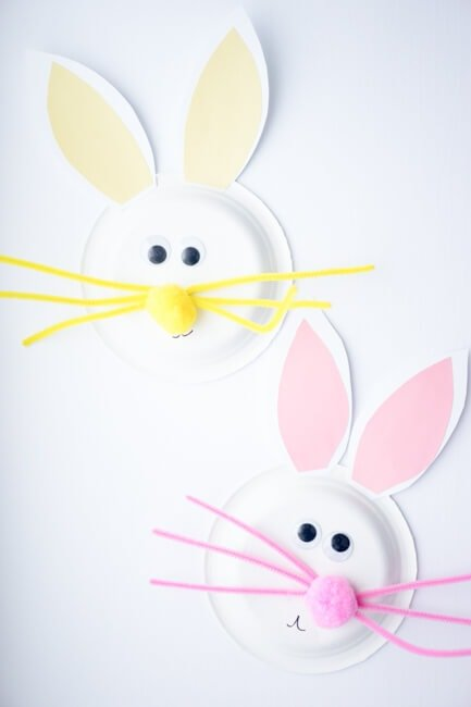 Paper-Plate-Easter-Bunny