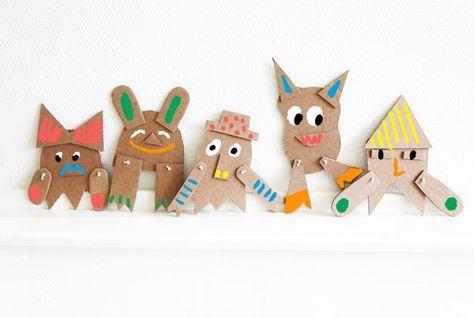 cardboard creatures diy