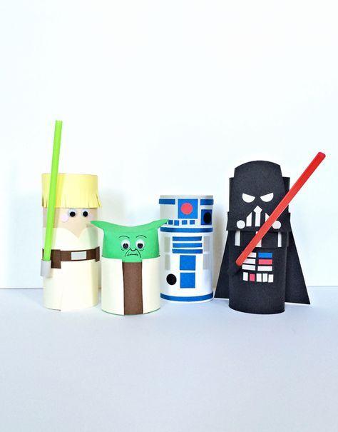 cardboard star wars characters