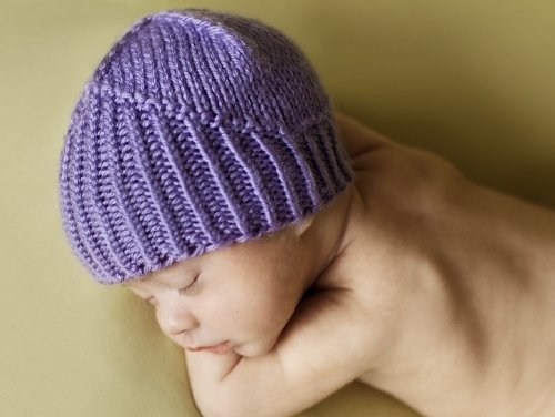 Makers Needed To Donate Purple Hats For Newborns Free Knitting
