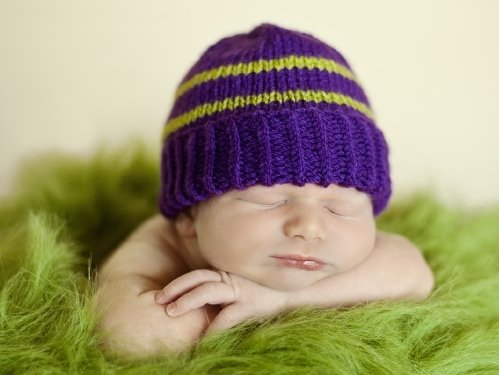 Purple Hats For Newborns Makers Needed To Donate Free Knitting