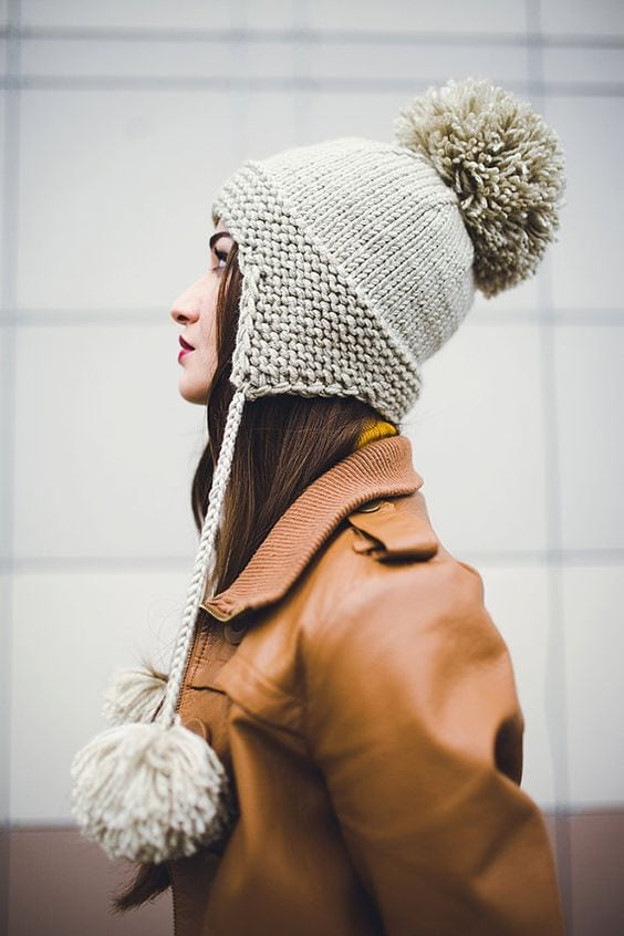fall knit hat pattern