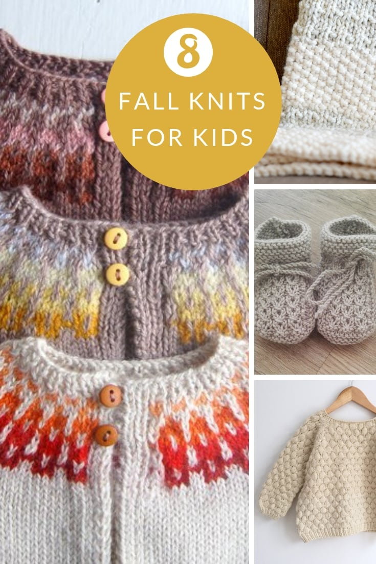 Fall knitting patterns for kids