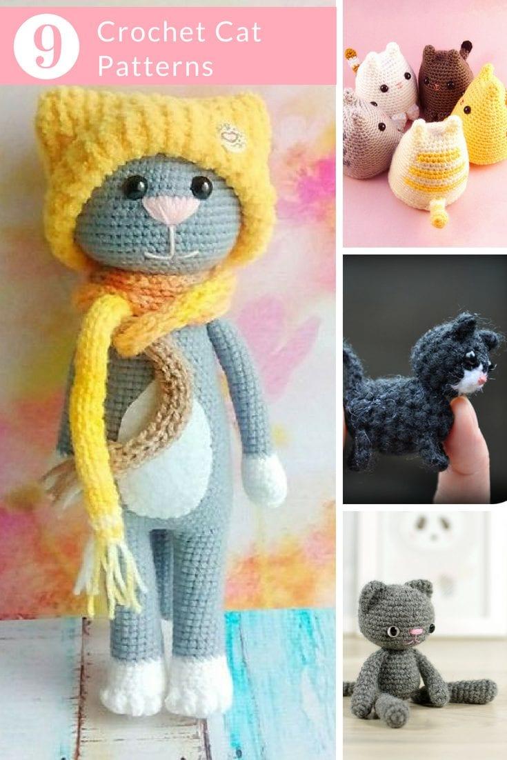 crochet cat patterns