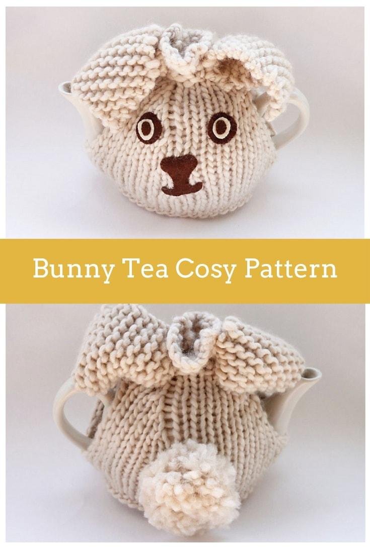bunny tea cosy